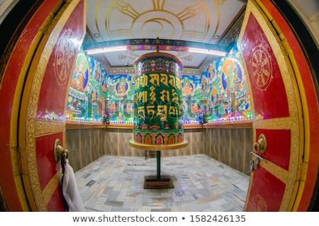 Gebed wielen Indië betekenis juweel Stockfoto © dmitry_rukhlenko