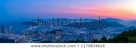 Haeundae beach in Busan, South Korea Stock photo © dmitry_rukhlenko