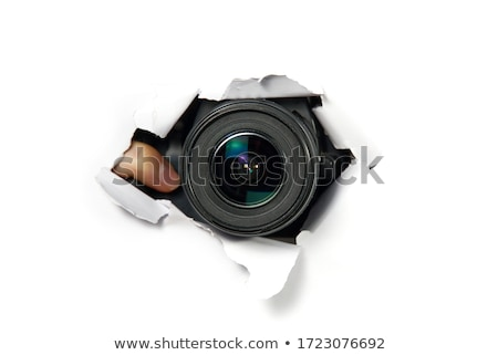 Paparazzi object groep succes persoon ondersteuning Stockfoto © Paha_L