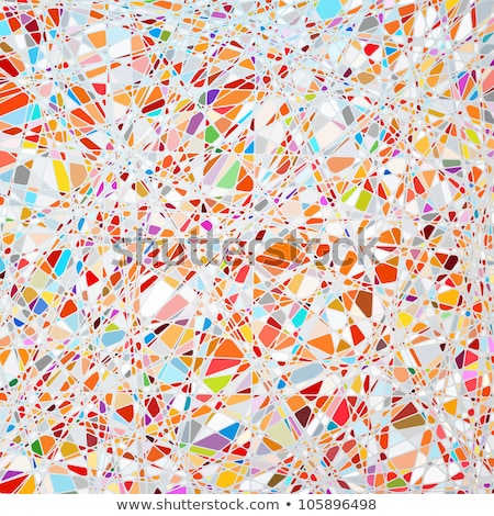 стекла · мозаика · красочный · аннотация · дизайна · фон - Сток-фото © beholdereye