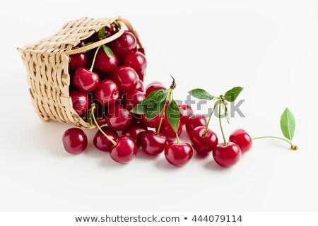 チェリー · 桜 · カップル · 食品 · ピンク - ストックフォト © elly_l