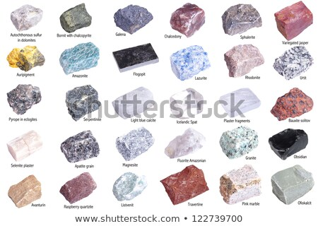 Collection of minerals Stock photo © grafvision