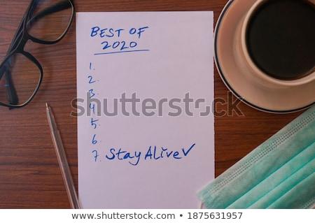 Last year Stock photo © stevanovicigor