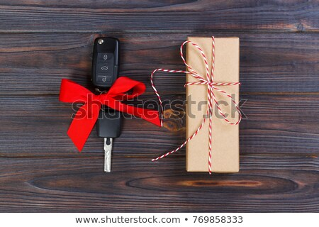 scatola · regalo · tasti · due · perla · gioielli · pizzo - foto d'archivio © inxti