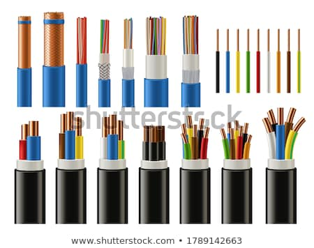 Coaxial Cable Stock photo © AlphaBaby
