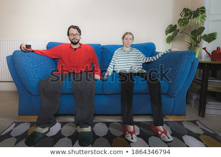 Stock photo: Couple are stuck in a rut