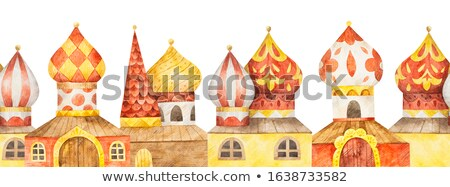 Frames with Russian Domes Stock photo © dayzeren