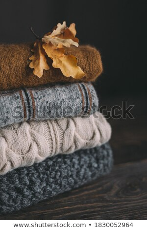 red wool background Stock photo © MiroNovak