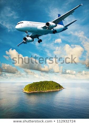 widok · z · lotu · ptaka · pionowy · niebo · wody · charakter - zdjęcia stock © moses