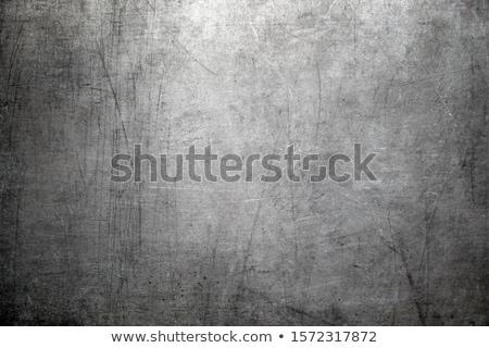Foto stock: Velho · enferrujado · superfície · metálica · amarelo · parede · abstrato