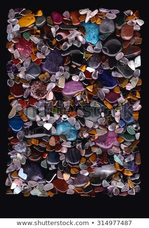 Değerli taş taşlar cilalı atış Stok fotoğraf © SLP_London