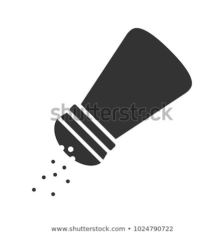 Shaker szivacs vektor illusztráció clipart Stock fotó © zzve