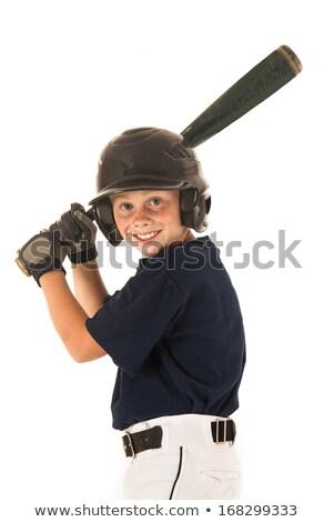 Portrait of young baseball player swinging bat Stock photo © wavebreak_media