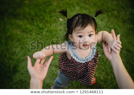 Young boy learning to walk Stock photo © doupix