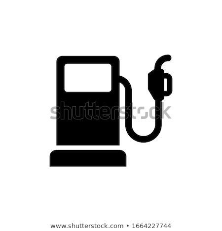 renkli · yakıt · üç · pompa · benzin · istasyonu · mavi - stok fotoğraf © stevanovicigor