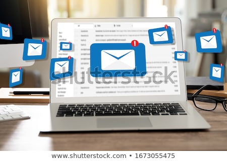 hand · brief · mailbox · vak · mail · envelop - stockfoto © ivelin