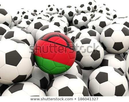 флаг Малави футбола команда стране Сток-фото © MikhailMishchenko