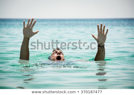 drowning man stock photo © stevanovicigor