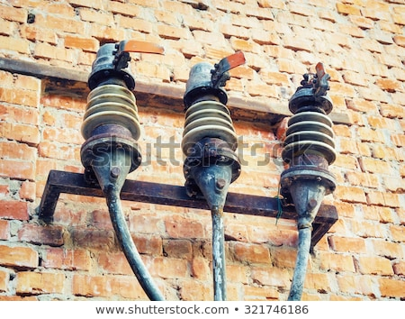 Vintage electrical fuse Stock photo © deyangeorgiev