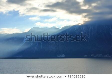 озеро · альпийский · города · Швейцария · лет - Сток-фото © marekusz
