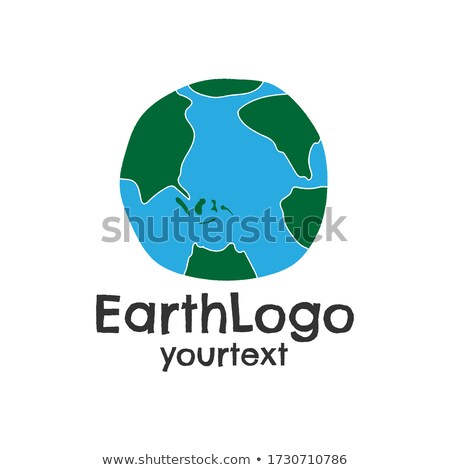 Sketch Earth planet in hipster style Stock photo © kali