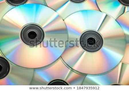 CD wiele niebieski kolor danych Zdjęcia stock © jeancliclac