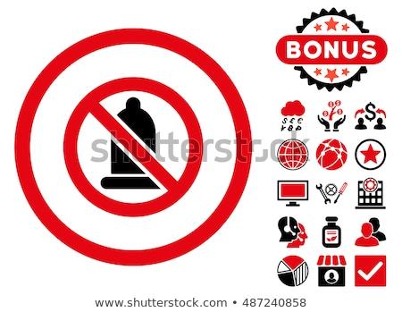 Condom ban icon. Stock photo © tkacchuk