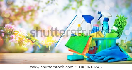 colorido · pintar · fundo · arte · pintura · paint · brush - foto stock © efischen