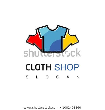 Logo giysi iş logo iş moda soyut Stok fotoğraf © shawlinmohd
