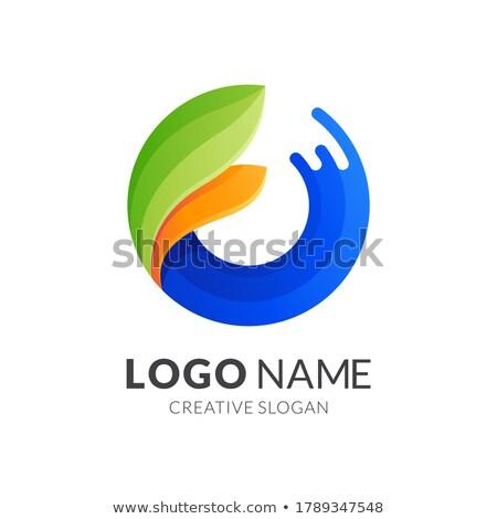 3D növényvilág grafikus logo üzlet virág Stock fotó © shawlinmohd