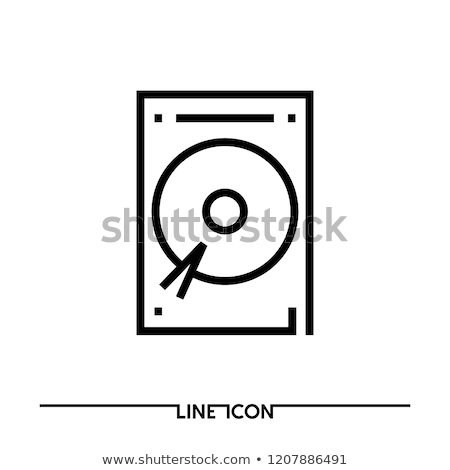 Optical disk drive isolated Stock photo © shutswis