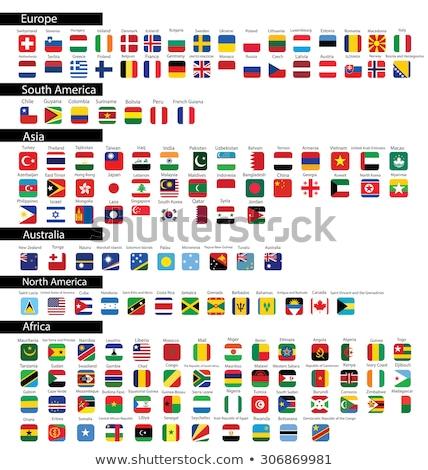 Brazília Nauru zászlók puzzle izolált fehér Stock fotó © Istanbul2009
