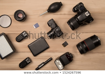 led lighting equipment for photo and video producti stock photo © stevanovicigor