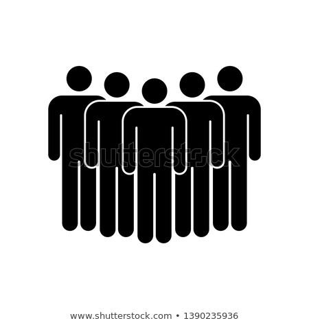 halklar · simgeler · nüfus · dizayn - stok fotoğraf © get4net