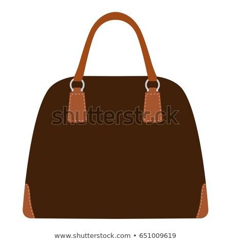 моде иллюстрация дизайнера стороны сумку дизайна Сток-фото © gigi_linquiet