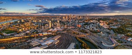 Брисбен · Cityscape · изображение · Skyline · Панорама · Австралия - Сток-фото © kraskoff