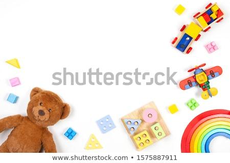 kid toys at child store stock photo © jordanrusev