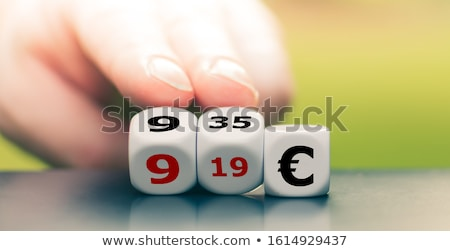 Dice with minimum wage Stock photo © Ustofre9