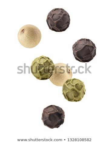 Green and black peppercorns Stock photo © Digifoodstock