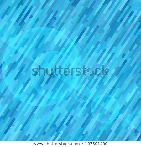 Abstrato azul tecnologia distorcida estoque vetor Foto stock © punsayaporn