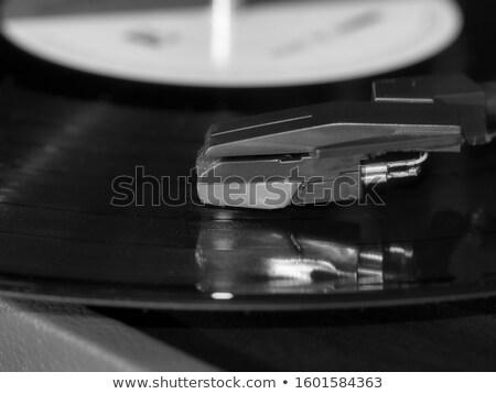 Görmek eski elektronik fotoğrafçılık ahşap masa Stok fotoğraf © ozgur