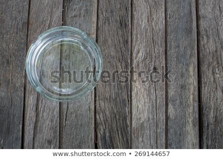 tavolo · in · legno · parola · ufficio · scuola · vetro · istruzione - foto d'archivio © fuzzbones0