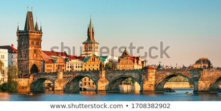 Prag Cityscape kale eski dünya Stok fotoğraf © LucVi