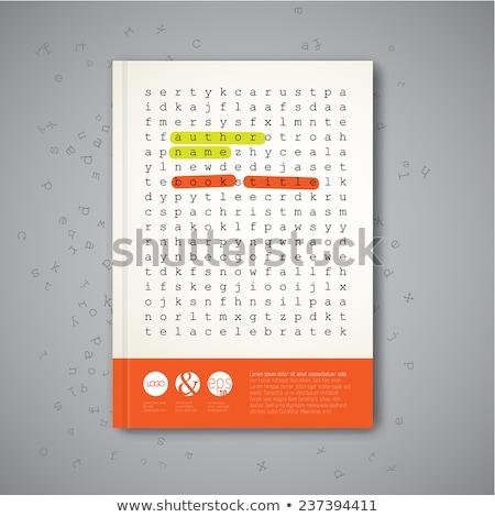 Bilmece kelime web sitesi puzzle parçaları inşaat dizayn Stok fotoğraf © fuzzbones0