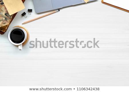 Tabela ilustração mobiliário conselho gráfico Foto stock © bluering