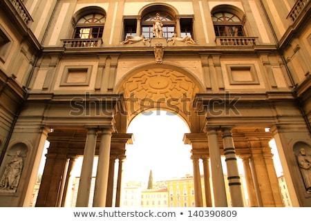 müze · Floransa · İtalya · dünya · ünlü · Bina - stok fotoğraf © givaga