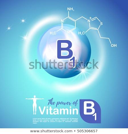 Düğmeler kimyasallar örnek beyaz arka plan kırmızı Stok fotoğraf © bluering