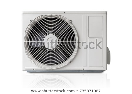 airconditioner · geïsoleerd · licht · technologie · metaal - stockfoto © kayros