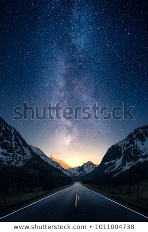 Book with road scene Stock photo © bluering