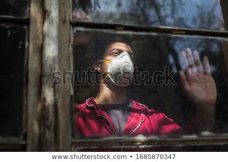 депрессия иллюстрация девушки самоубийства ухода грусть Сток-фото © adrenalina